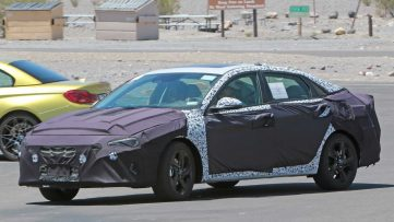 Next-Gen Hyundai Elantra Spied For the First Time 5