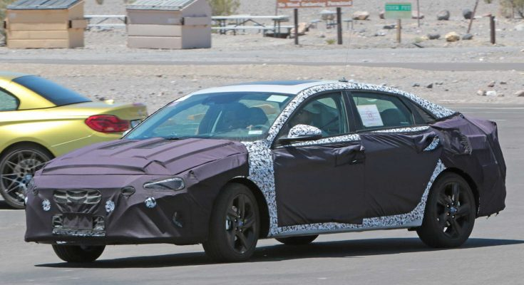 Next-Gen Hyundai Elantra Spied For the First Time 1