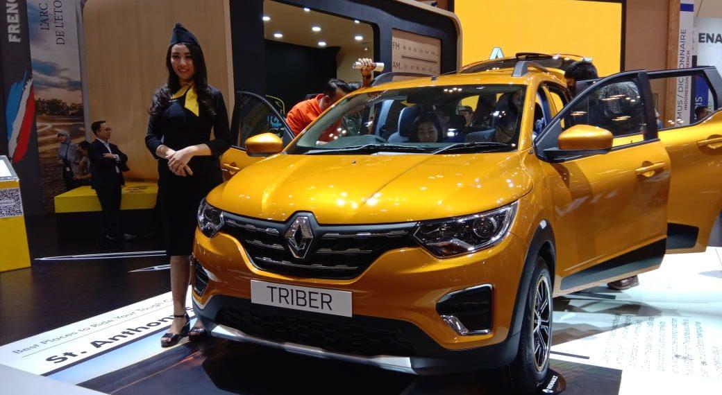 Renault Triber Debuts at 2019 GIIAS 1