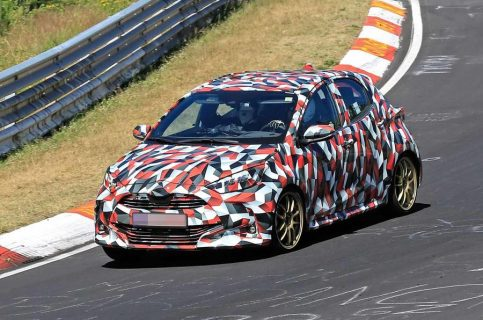 2020 Toyota Yaris Hatchback Spotted Testing 11