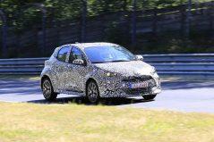 2020 Toyota Yaris Hatchback Spotted Testing 7