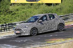 2020 Toyota Yaris Hatchback Spotted Testing 4