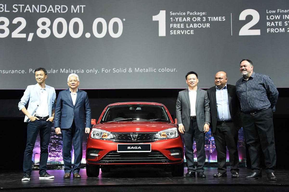 2019 Proton Saga Facelift Launched in Malaysia 15