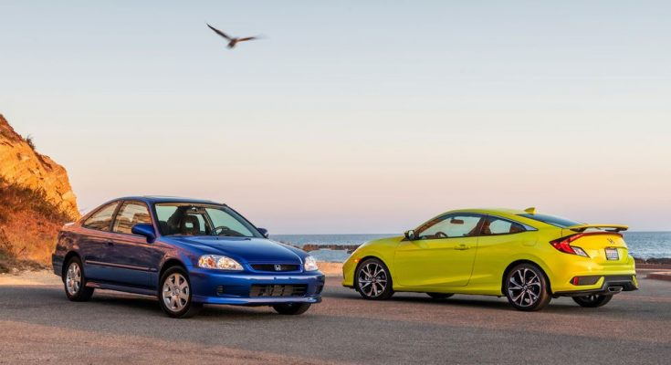 2019 Honda Civic Si Coupe vs 1999 Honda Civic Si Coupe 1