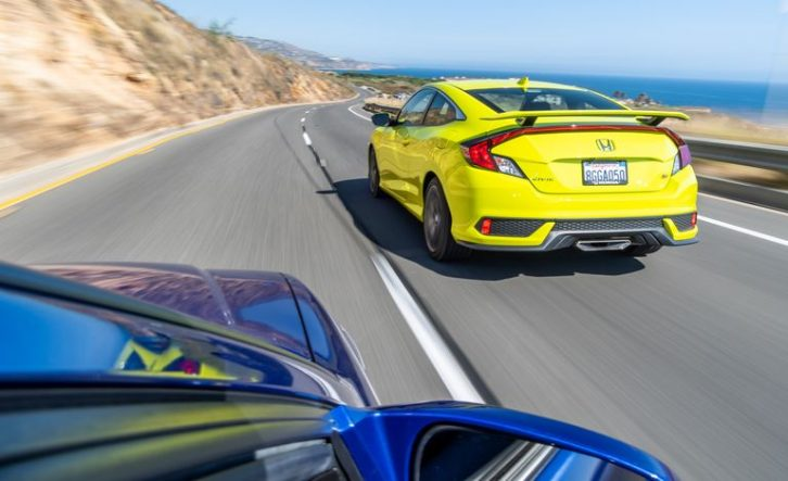 2019 Honda Civic Si Coupe vs 1999 Honda Civic Si Coupe 13