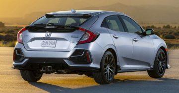 2020 Honda Civic Hatchback Facelift Debuts 3