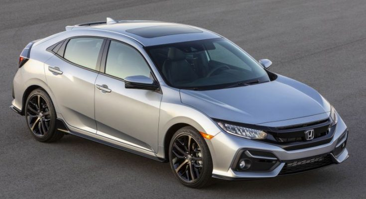 2020 Honda Civic Hatchback Facelift Debuts 1