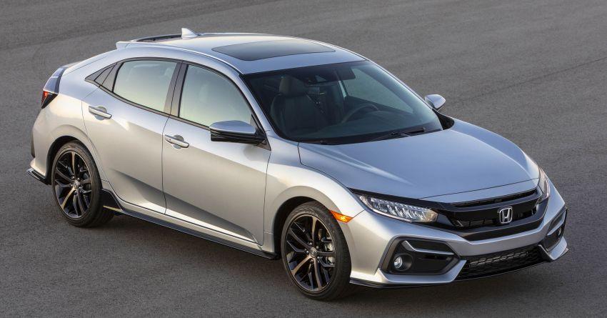 2020 Honda Civic Hatchback Facelift Debuts 1