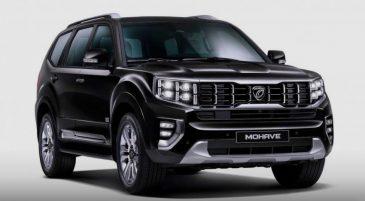 2020 Kia Mohave SUV Teased 4