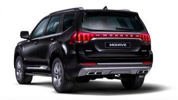 2020 Kia Mohave SUV Teased 5