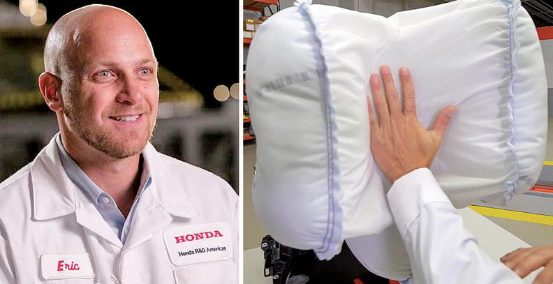 Honda Develops Next Gen Front Airbag Technology 3