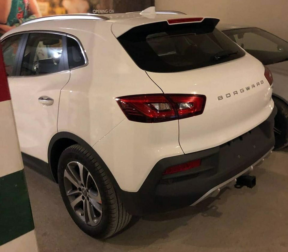 Borgward BX5 SUV Spotted in Lahore - CarSpiritPK