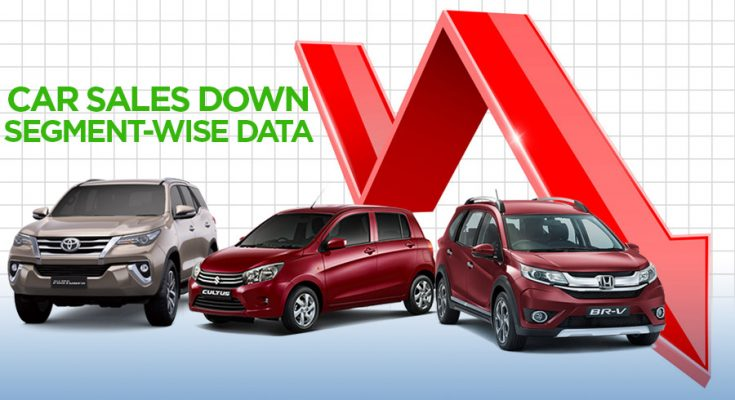 Car Sales Decline: Segment-Wise Data 1