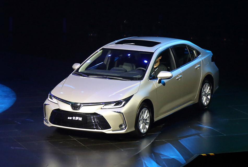 All New Toyota Corolla Launched in China 2