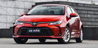 All New Toyota Corolla Launched in China 9
