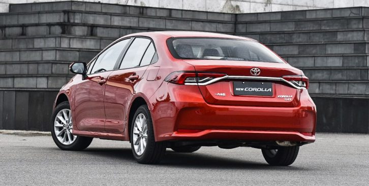 All New Toyota Corolla Launched in China 11