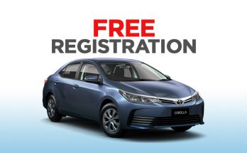 IMC Offering Free Registration on 1.3L Toyota Corolla Variants 9