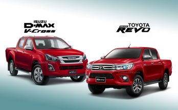 Toyota Hilux and Isuzu D-Max Sales Comparison 1