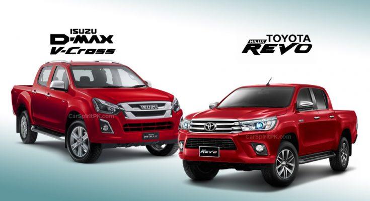 Toyota Hilux and Isuzu D-Max Sales Comparison 1