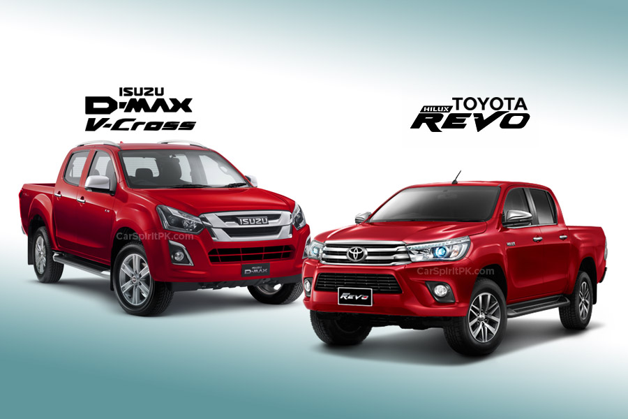 Toyota Hilux and Isuzu D-Max Sales Comparison 5