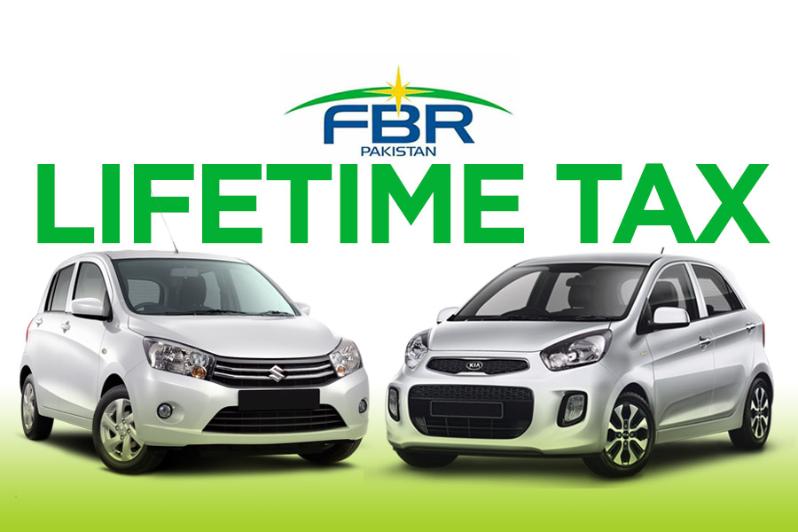 FBR to Recover Lifetime Tax from Small Cars Owners 9