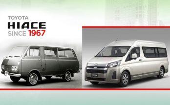 History of Toyota HiAce 6