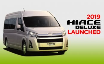 All New Toyota HiAce Deluxe Launched 24