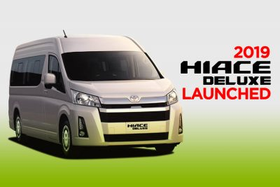 All New Toyota HiAce Deluxe Launched 13
