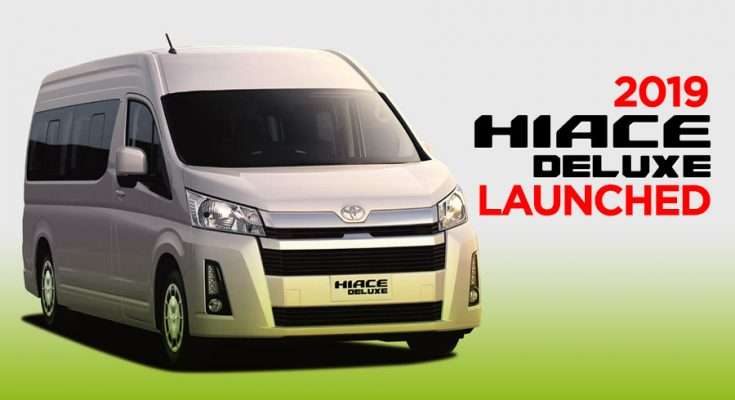 All New Toyota HiAce Deluxe Launched 1