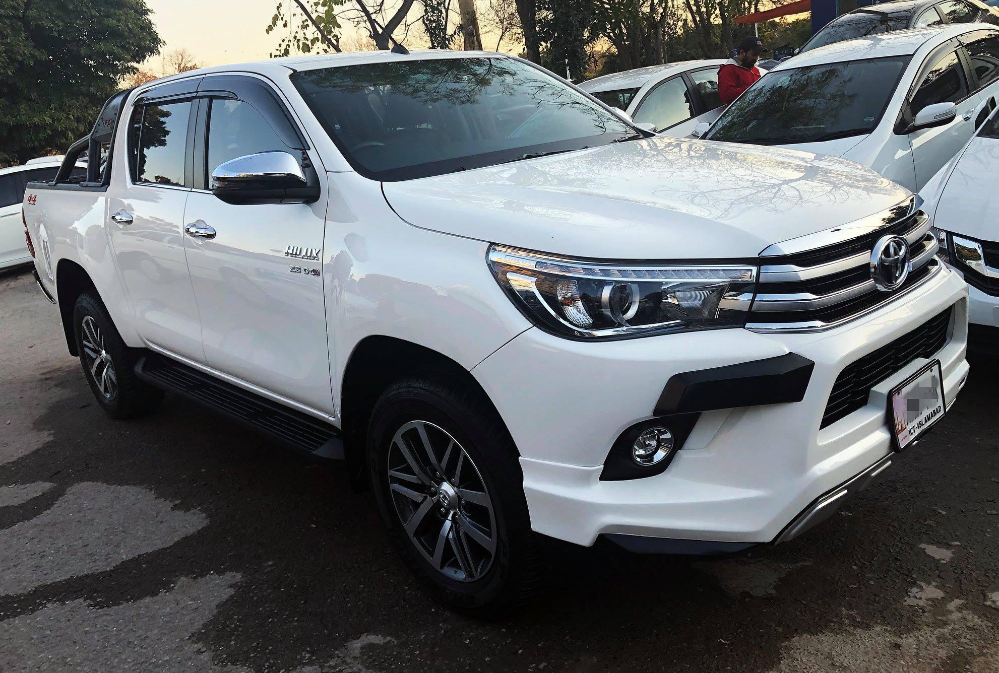 Toyota Hilux and Isuzu D-Max Sales Comparison 2