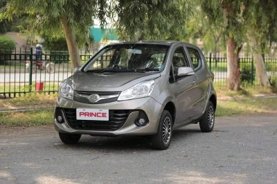 First Official Photos- Prince Pearl 800cc Hatchback 2