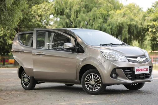 First Official Photos- Prince Pearl 800cc Hatchback 7