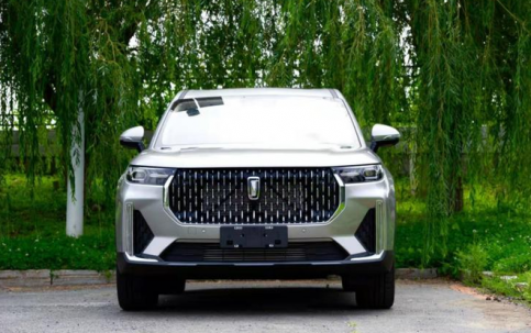 First Images of FAW's Flagship Bestune T99 SUV 9
