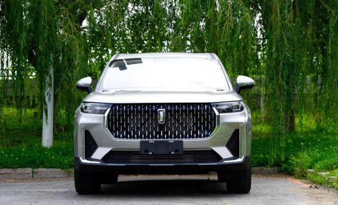 First Images of FAW's Flagship Bestune T99 SUV 1