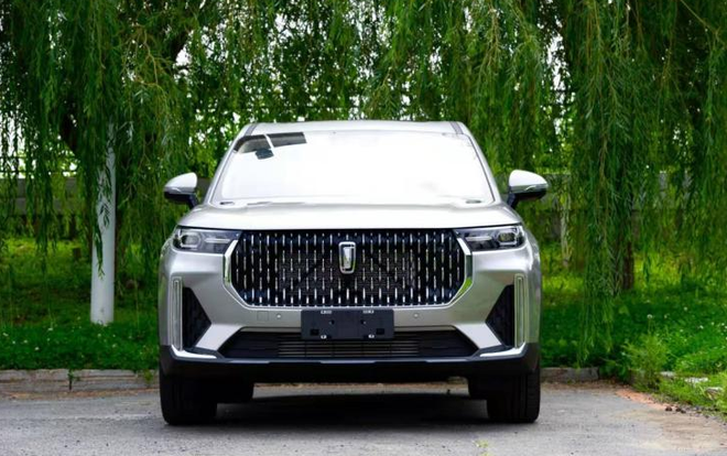 First Images of FAW's Flagship Bestune T99 SUV 5