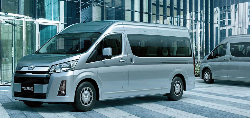 All New Toyota HiAce Deluxe Launched 9