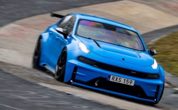 Lynk & Co 03 Cyan Concept Breaks Nurburgring 4-door and FWD Records 12