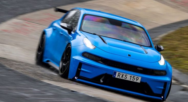 Lynk & Co 03 Cyan Concept Breaks Nurburgring 4-door and FWD Records 1