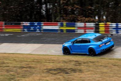 Lynk & Co 03 Cyan Concept Breaks Nurburgring 4-door and FWD Records 9