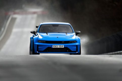 Lynk & Co 03 Cyan Concept Breaks Nurburgring 4-door and FWD Records 14