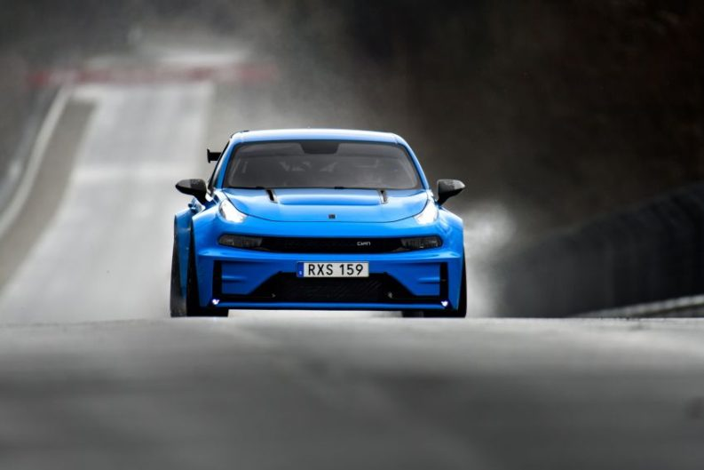 Lynk & Co 03 Cyan Concept Breaks Nurburgring 4-door and FWD Records 10