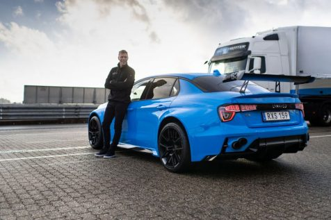 Lynk & Co 03 Cyan Concept Breaks Nurburgring 4-door and FWD Records 3