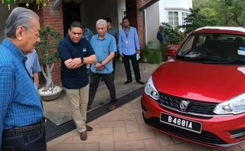 Mahatir Tests the New 2019 Proton Saga Facelift 12