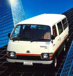 History of Toyota HiAce 13