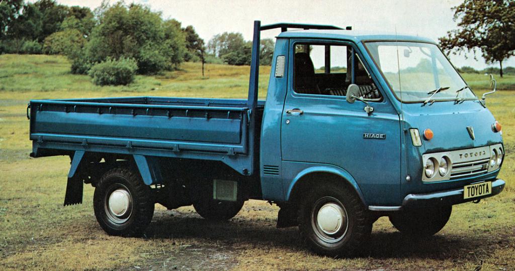 History of Toyota HiAce 5