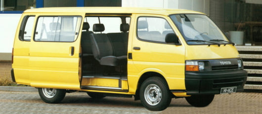 History of Toyota HiAce 21
