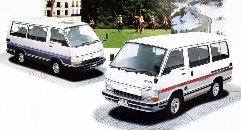History of Toyota HiAce 20