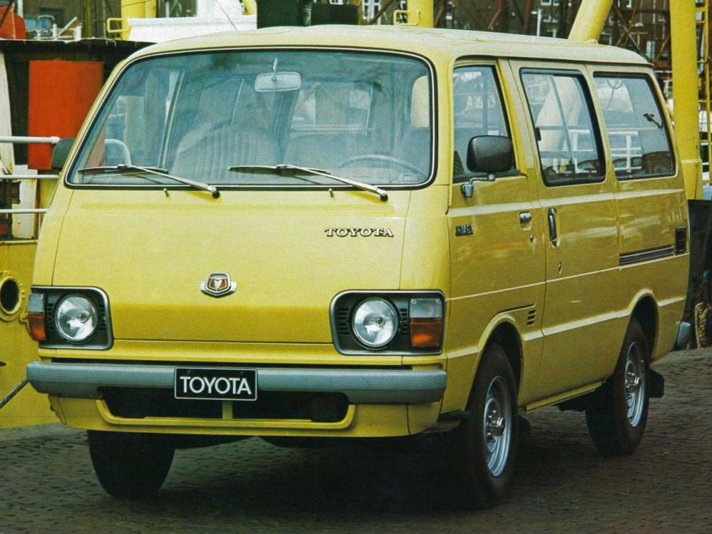 History of Toyota HiAce 11