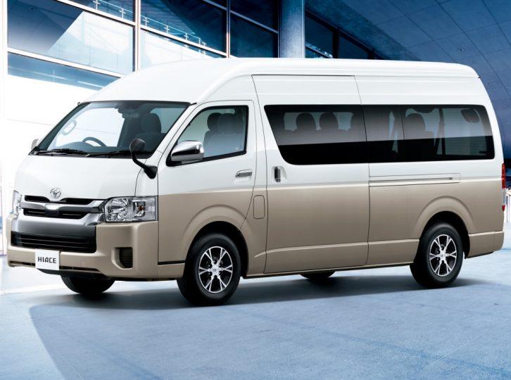 History of Toyota HiAce 39