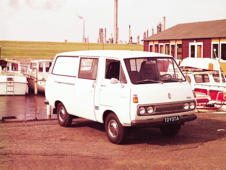 History of Toyota HiAce 2